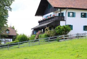 Malinowskis' house in Oberbozen. Photo by I.M.Carta